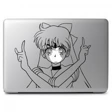 Sailor Moon Sailor Venus Apple Macbook Air Pro 11 13 15 17 Vinyl Decal Sticker Dreamy Jumpers