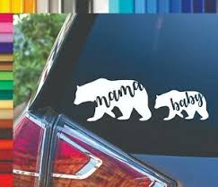 Mama Baby Bear Yeti Ozark Tumbler Laptop Window Decal Sticker Ebay