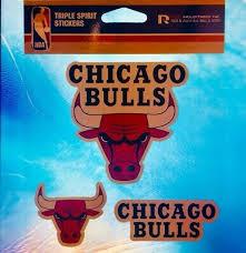 Chicago Bulls Nba Decal Sticker Car Truck Window Bumper Laptop Wall
