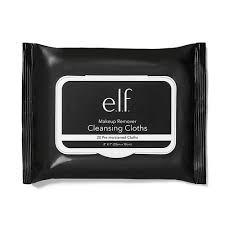 e l f makeup remover cleansing cloths