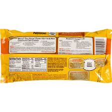 nestle toll house cookies calories