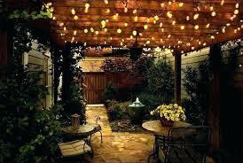 backyard solar lighting ideas