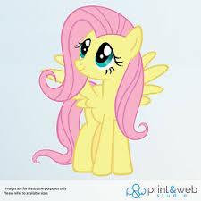 My Little Pony Fluttershy Vinyl Decal Wall Sticker Kids Ebay