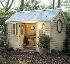 turn an outdoor storage shed into a