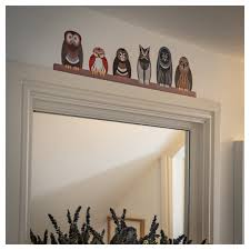 Owl Wall Stickers Parliament Of Owls Wall Sticker Decoration Window Flakes