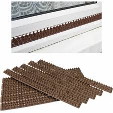 New Brown Fence Wall Spikes Post Cat Repellent Intruder Deterrent Anti Climb Ebay