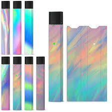 Rainbow Glitter Laser Glitter Skin Decal Wrap Sticker For Juul Case Protective Sticker For Juul Buy At The Price Of 0 49 In Aliexpress Com Imall Com