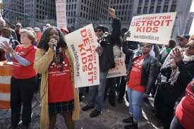 The Day - Plan to restructure Detroit schools advances during sickout -  News from southeastern Connecticut