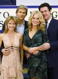 The four Musketeers, Guiding Light, Mindy and Rick, Beth and ...