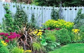 Small Garden Fence Ideas Wanderinc Co