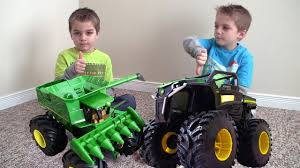 john deere monster truck tractor rumble