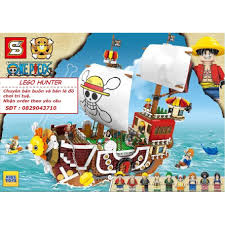 Bộ lắp ráp Lego Thuyền Thousand sunny Hải Tặc One Piece, giá chỉ ...