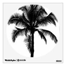 Black Palms Wall Decals Stickers Zazzle