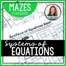 equations mazes by all things algebra
