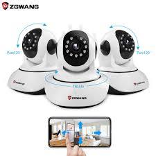 Zgwang X6 Camera IP Không Dây 720P Mạng Camera Quan Sát Camera An Ninh Wifi  Wi Fi Video Camera Giám Sát Hồng Ngoại Cắt Đêm tầm Nhìn Âm Thanh