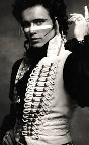 Adam ant. Gawd i loved this look. | Ant music, New romantics, Glam rock