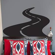 Amazon Com Vinyl Wall Decal Sticker Bedroom Road Racer Street Cars Moto Race Kids Room R1665 Home Kitchen
