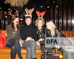 Adele Carr, Christopher Wolf, Ondine de Rothschild at Annual Naughty or  Nice Christmas Party / id : 953461