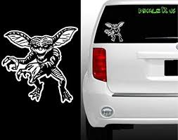 Amazon Com Gremlin Vinyl Decal Horror Halloween Scary Tablet Gizmo Cool Sticker Kitchen Dining