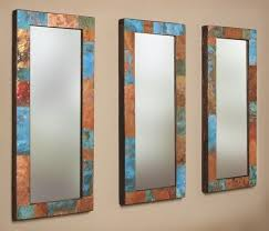 custom made copper and metal mirror