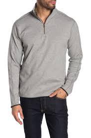 Robert Graham | Elliot Quarter Zip Pullover Sweater | HauteLook