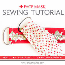 free face mask sewing tutorial with