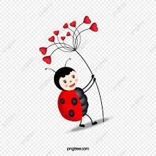 Ladybug Cute Cartoon Mariquita Cute Cartoon Png Y Vector Para
