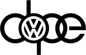 Dope Volkswagen Car Decal Sticker Zeroapex
