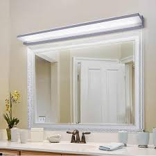 mirror light fixture antimist bathroom
