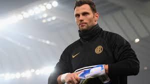 Inter Goalkeeper Daniele Padelli: