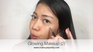 cara makeup muka nak glowing saubhaya