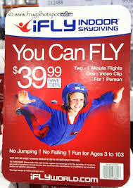costco deal ifly seattle gift