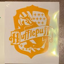 Other Hufflepuff Decal Poshmark