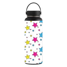 Skin Decal Wrap For Hydro Flask 40 Oz Wide Mouth Sticker Smiley Stars Walmart Com Walmart Com