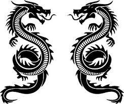Dragons Myth Fantasy Set Of Two 8 Vinyl Sticker Decal Car Wall Window Truck Ebay