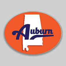 Amazon Com Jb Print Auburn Alabama Oval Vinyl Town City College University Vinyl Decal Sticker Car Waterproof Car Decal Bumper Sticker 5 Kitchen Dining