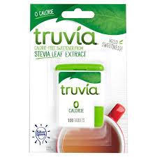 truvia calorie free sweetener tablets