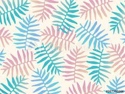 fern leaves seamless pattern background