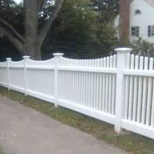 40 Of Pvc Vinyl Louisville Victorian Picket Fence Scallop Top 4 H X 8 W Wayside Fence Company