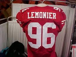 2015 NFL San Francisco 49ers Nike Game Worn Jersey #96 Corey ...