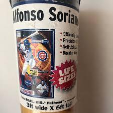 Fathead Wall Art Brand New Alfonso Soriano Chicago Cubs Poshmark