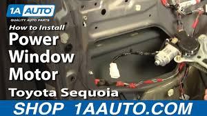 power window motor 01 07 toyota sequoia