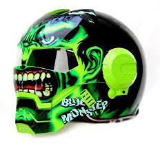 Hulk Open Face Helmet