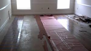 install wood floors on concrete slab