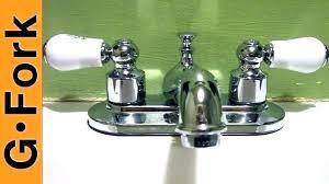 repair outside water faucet bathroom
