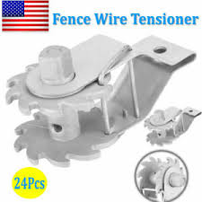 24pcs In Line Electric Fence Wire Strainer Tensioner Post Ratchet Rope Strainer Ebay