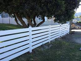 Vinyl Horizontal Backyard Fences Horizontal Fence Fence Design