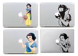 Laptop Sticker Snow White Collection Vinyl Decal For Apple Macbook Pro Air 13 15 Inch Color For Macbook Laptop Skin Decal Sticker Decal Logosticker Name Aliexpress