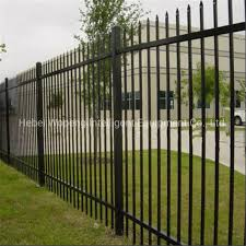 China Black Metal Fencing Panels Fences For Houses Fencing For Backyard Photos Pictures Made In China Com