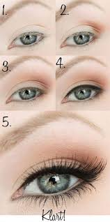 light natural eye makeup cat eye makeup
